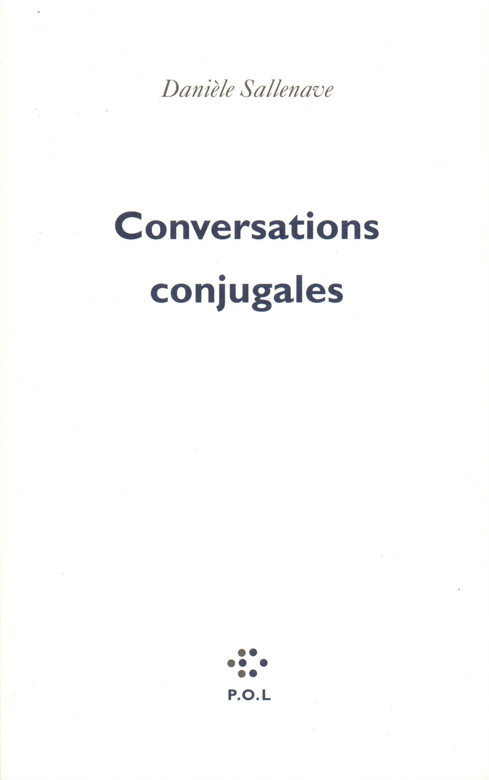 Conversations conjugales