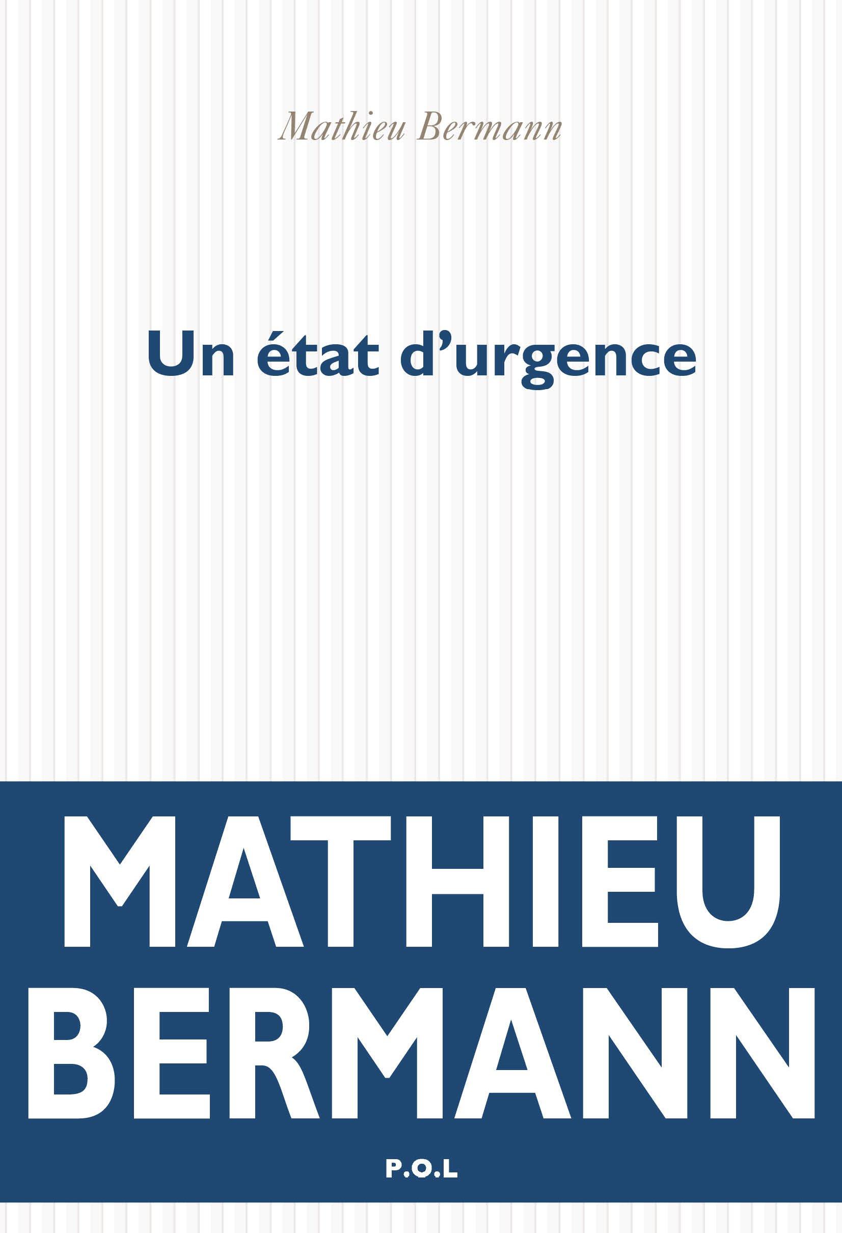 Un état d'urgence | Bermann, Mathieu