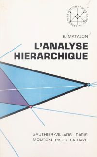 L'analyse hiérarchique