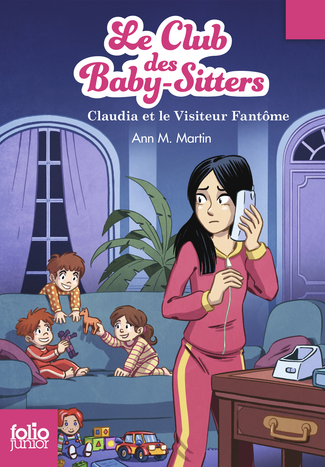 Le Club des baby-sitters (Tome 2) - Claudia et le Visiteur Fantôme
