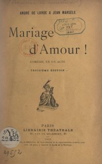 Mariage d'amour !