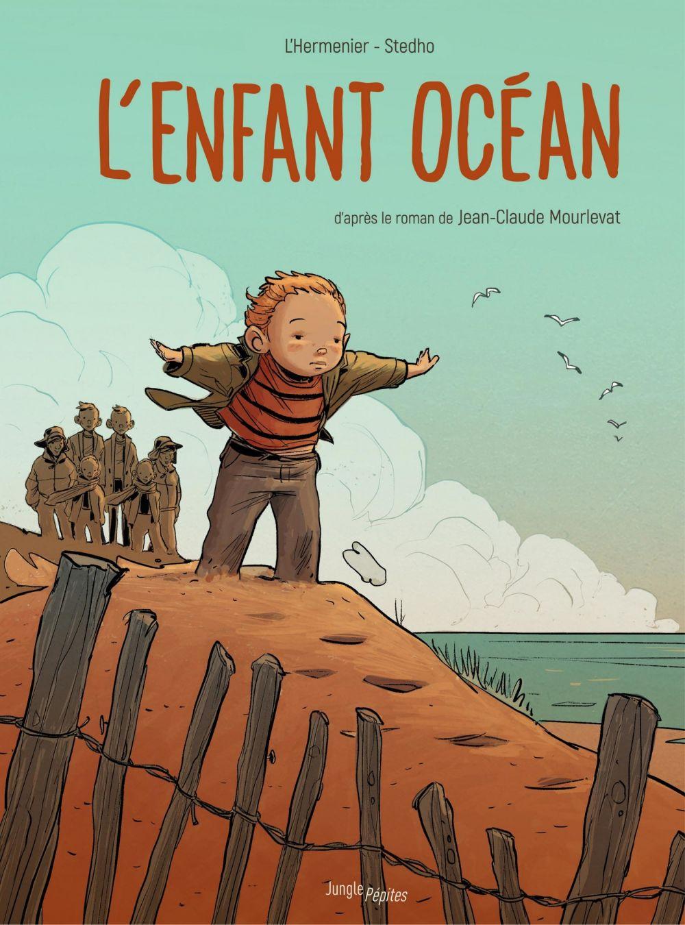 L'enfant océan | l'Hermenier, Maxe. Auteur