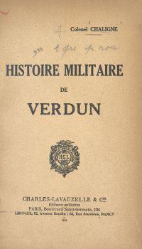 Histoire militaire de Verdun