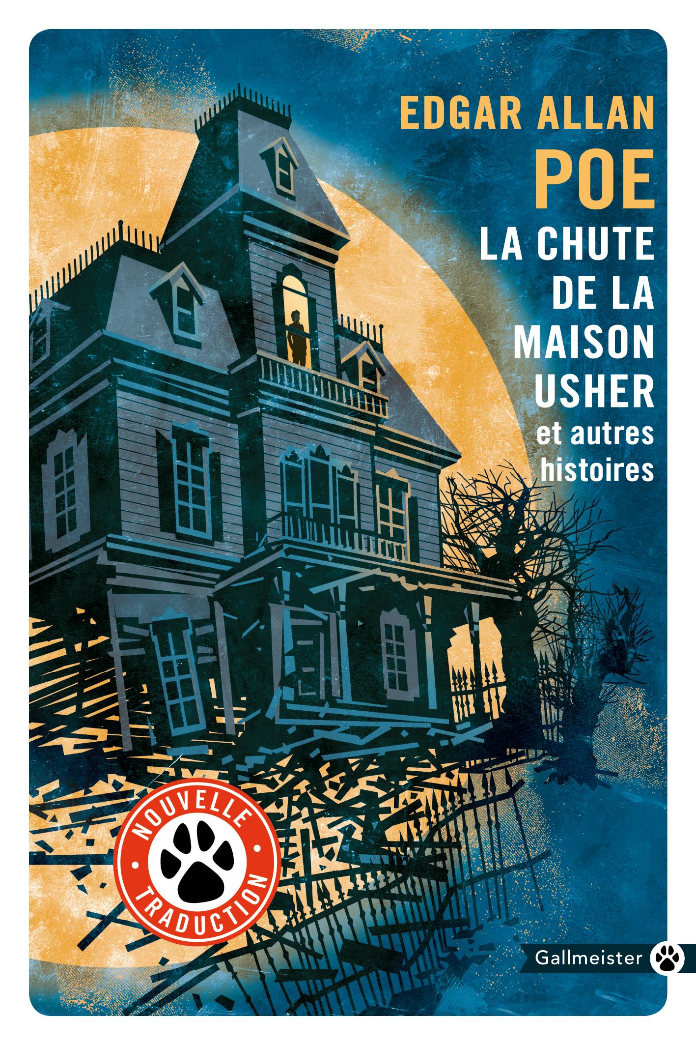 La Chute de la maison Usher   Poe, Edgar Allan