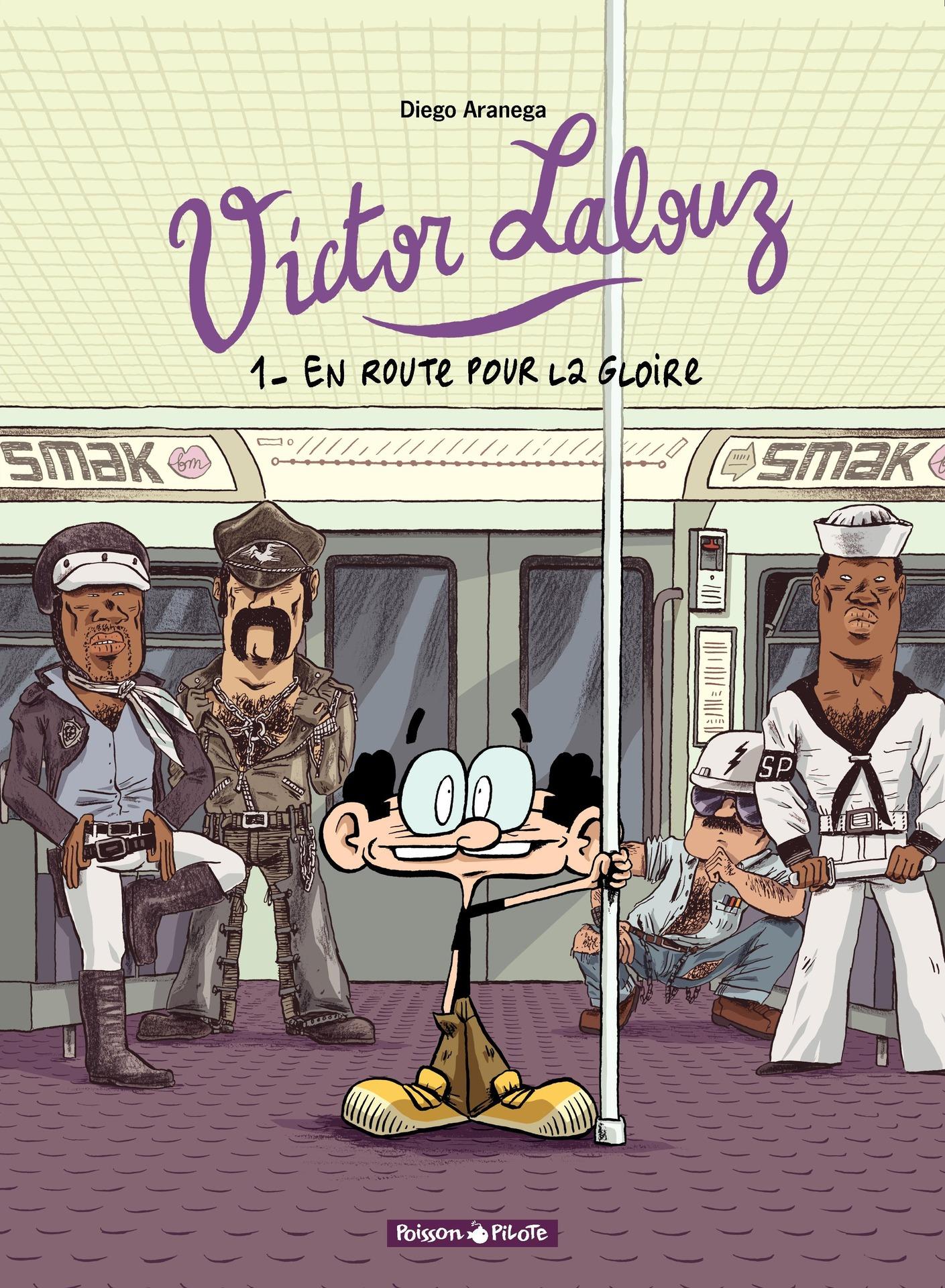 Victor Lalouz - Tome 1 - En route pour la gloire