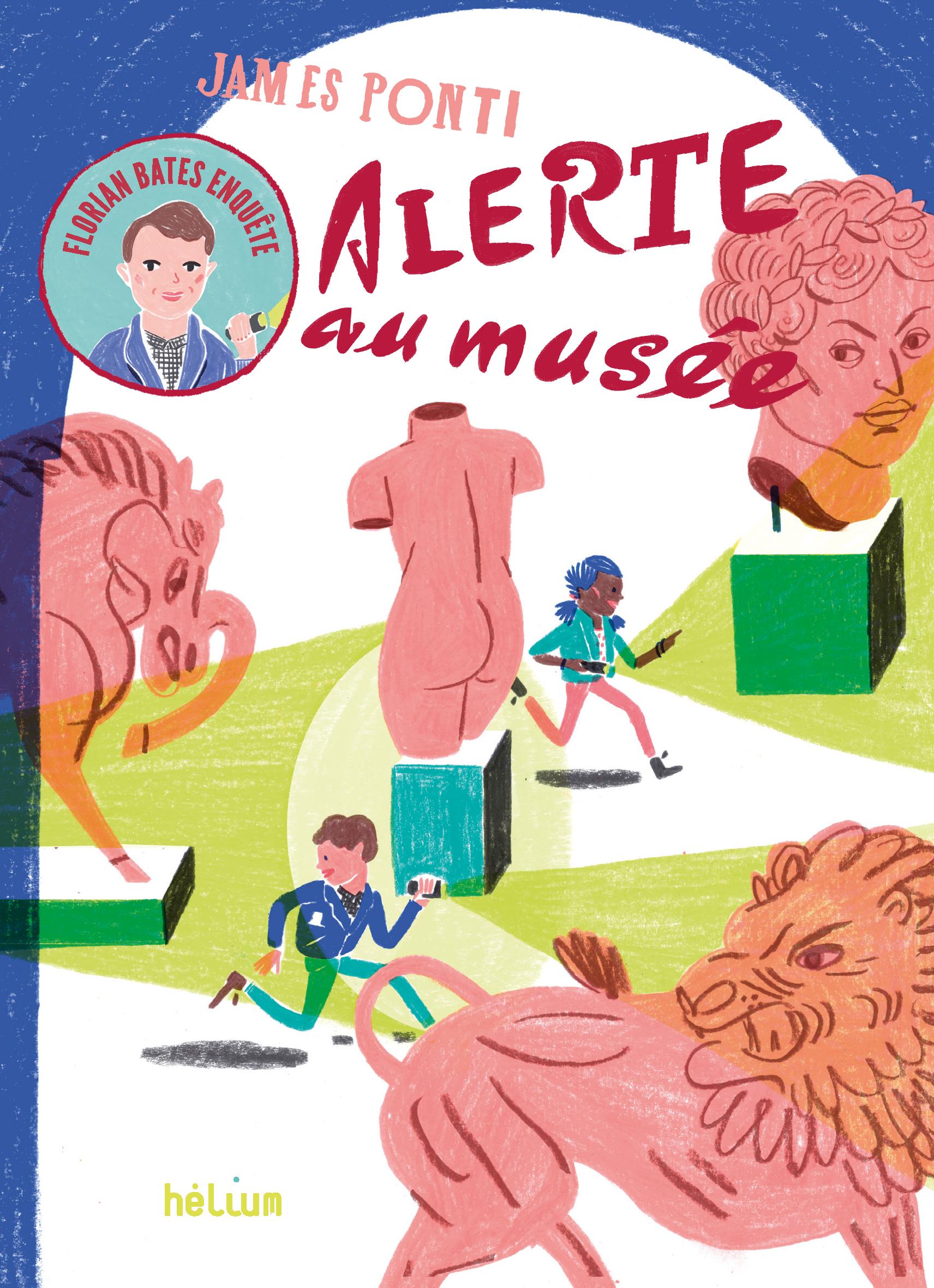 Florian Bates enquête, Alerte au musée | Ponti, James