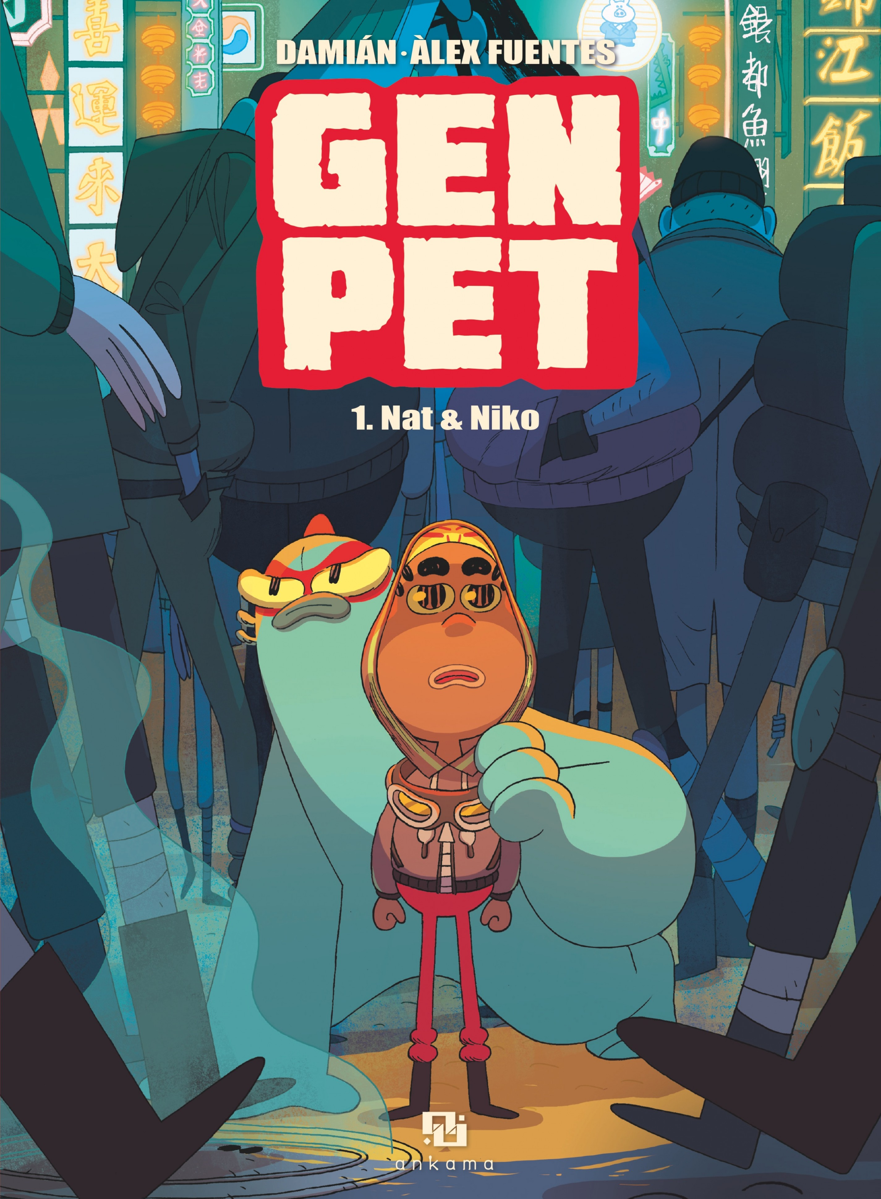GenPet - Tome 1 - tome 1 | Damian,