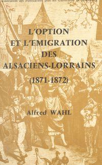 L'option et l'émigration de...