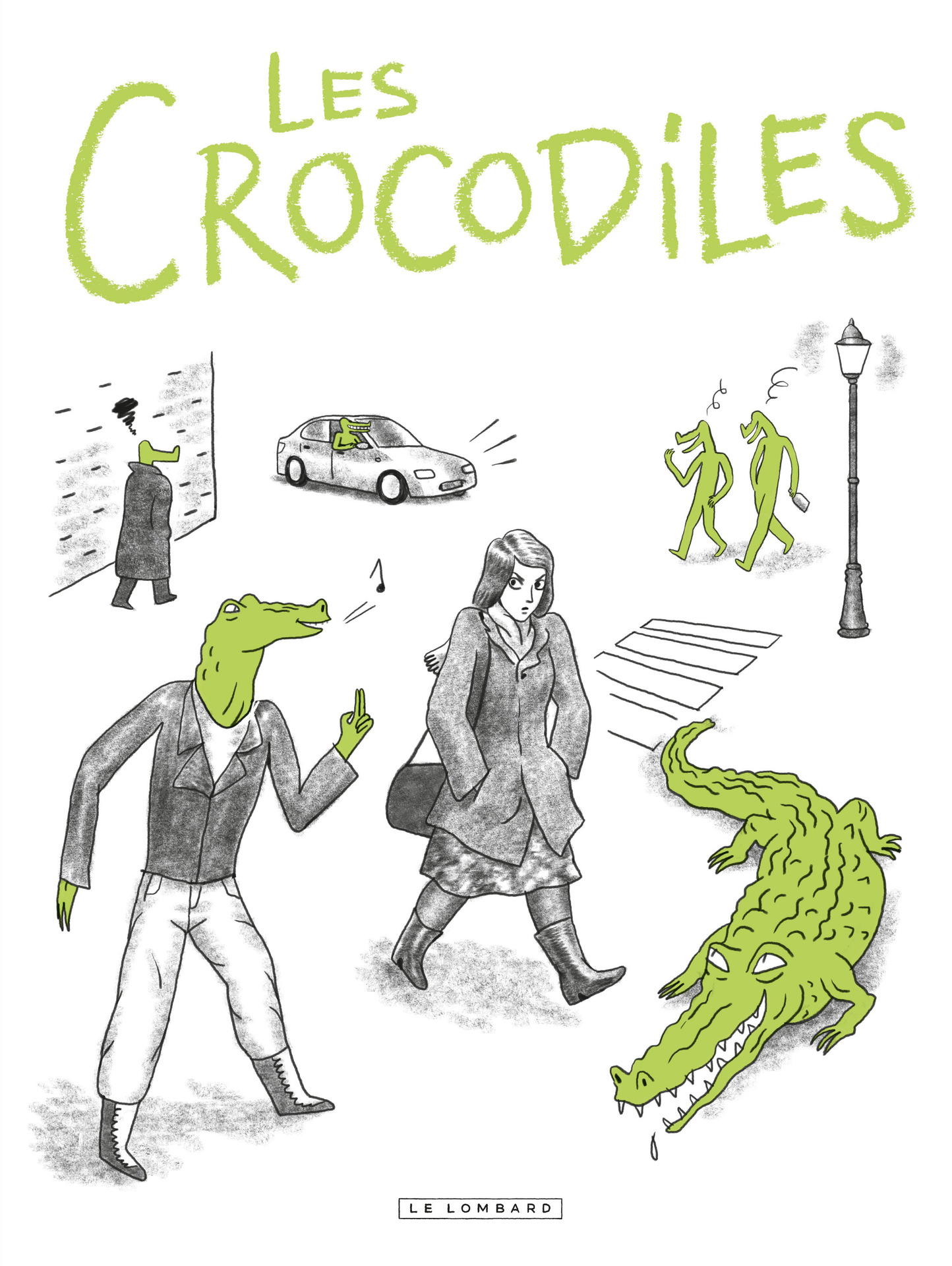 Les Crocodiles | Thomas Mathieu,