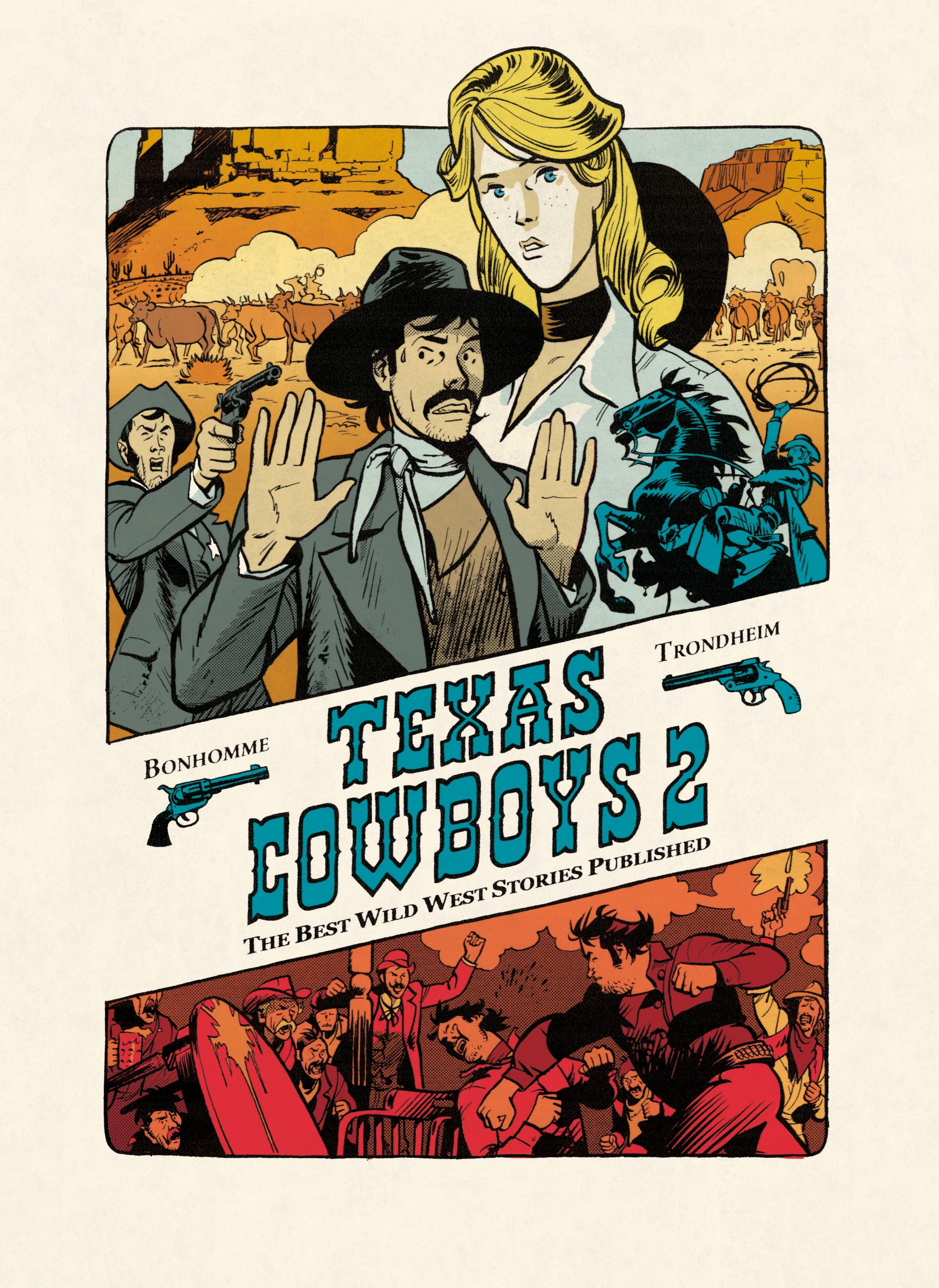 Texas Cowboys - Tome 2