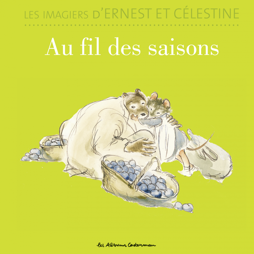 Les imagiers d'Ernest et Célestine - Au fil des saisons