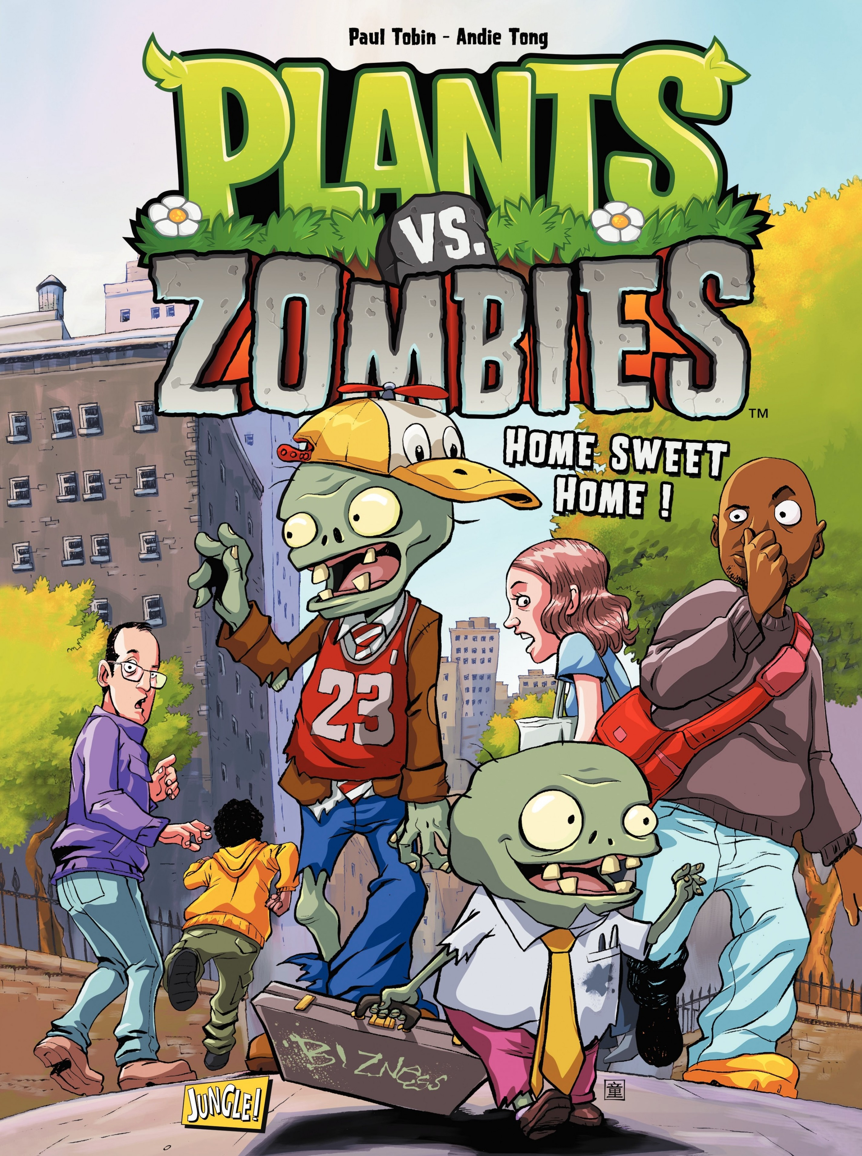 Plants vs zombies - Tome 4 - Home Sweet Home |