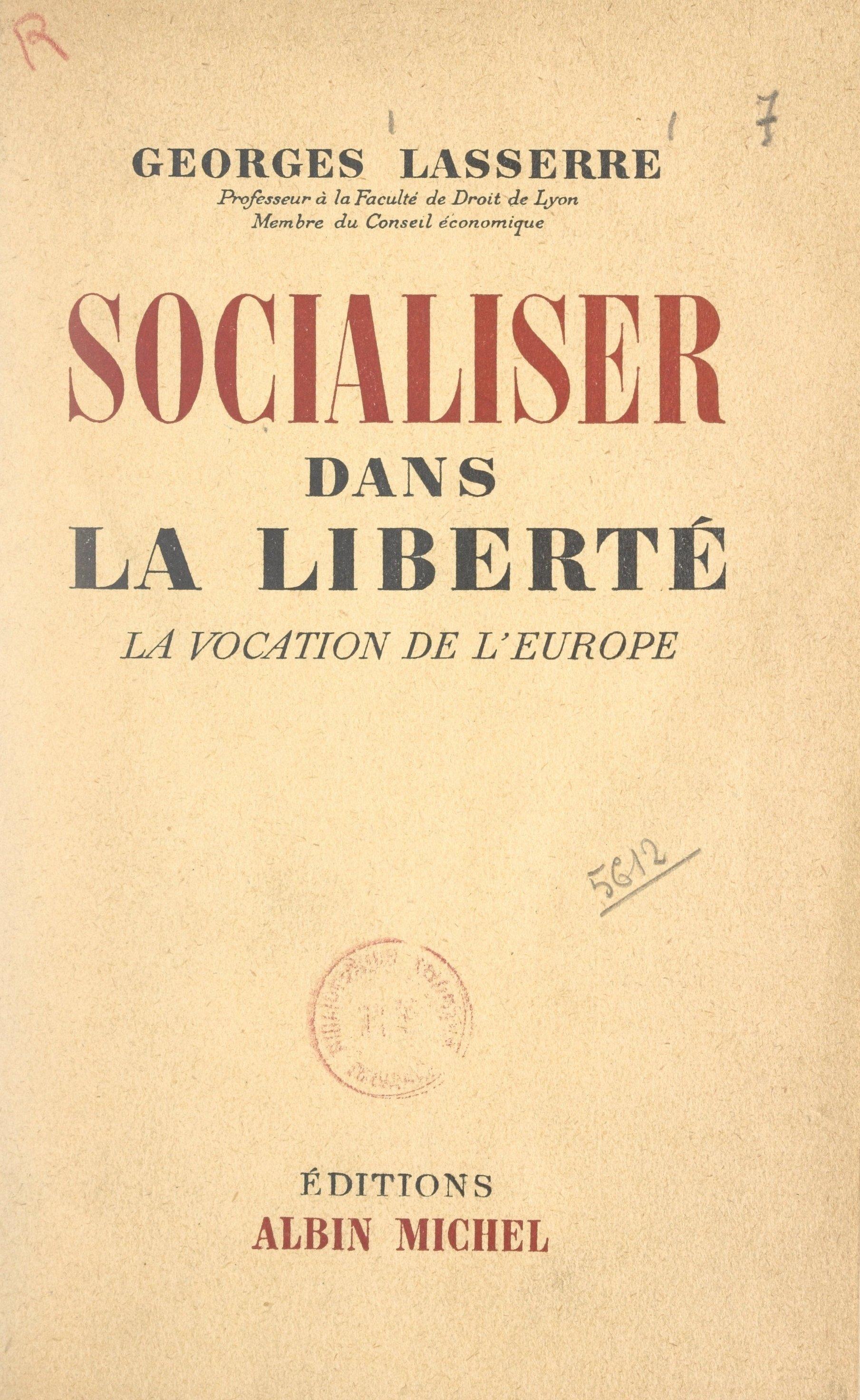 Socialiser dans la liberté
