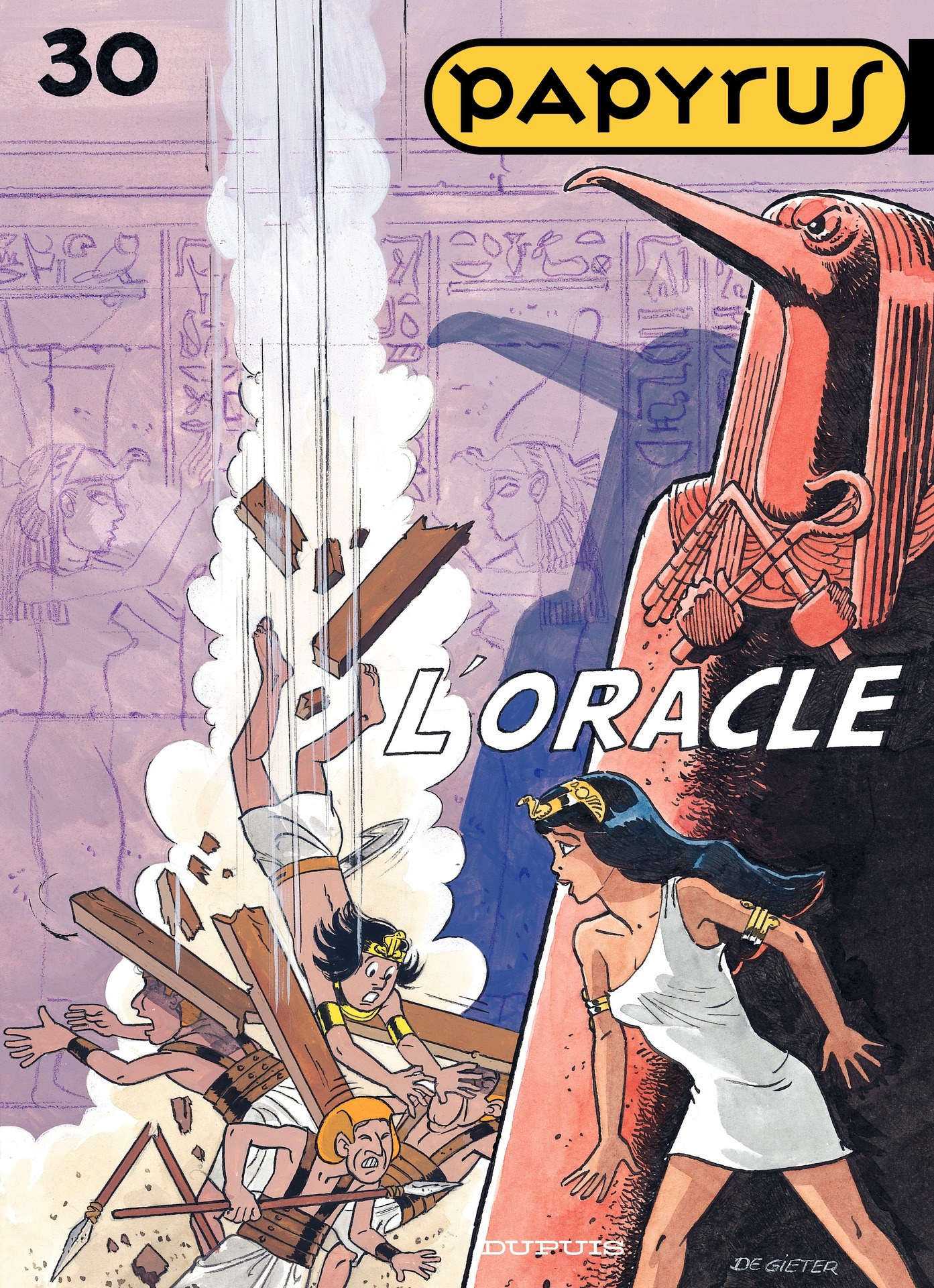 Papyrus - Tome 30 - L'oracle
