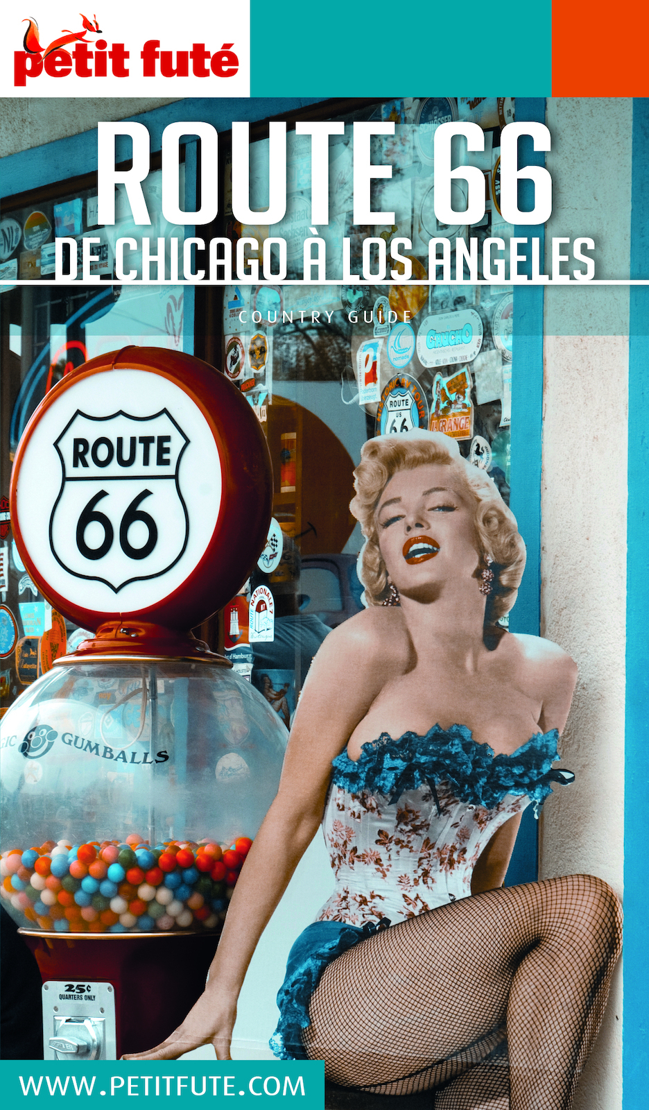 ROUTE 66 US 2018/2019 Petit Futé | Auzias, Dominique