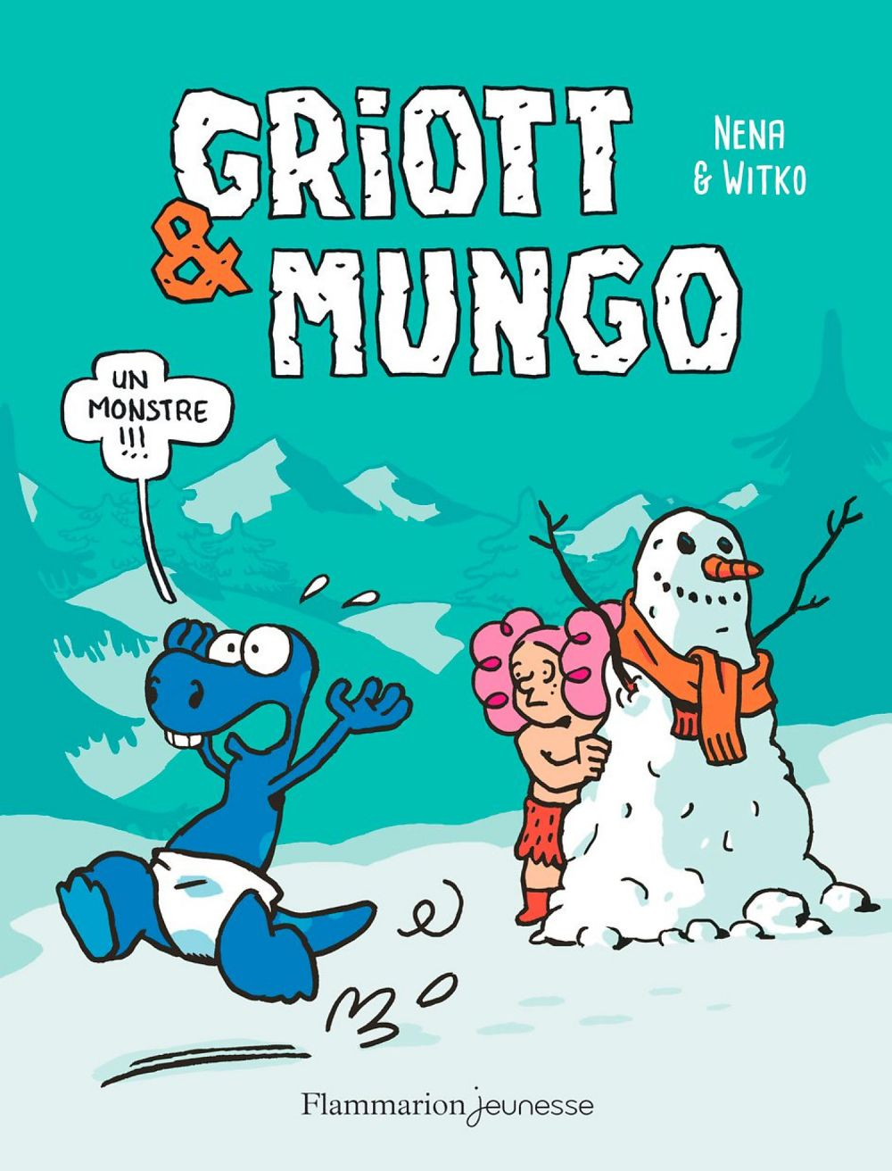 Griott & Mungo (Tome 3) - Un monstre !!! |
