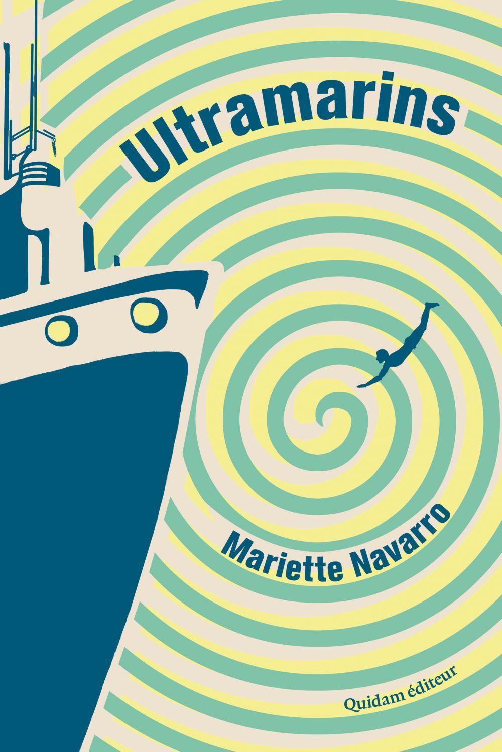 Ultramarins | NAVARRO, Mariette. Auteur