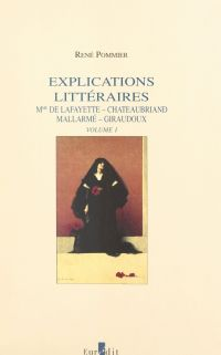 Explications littéraires (1...