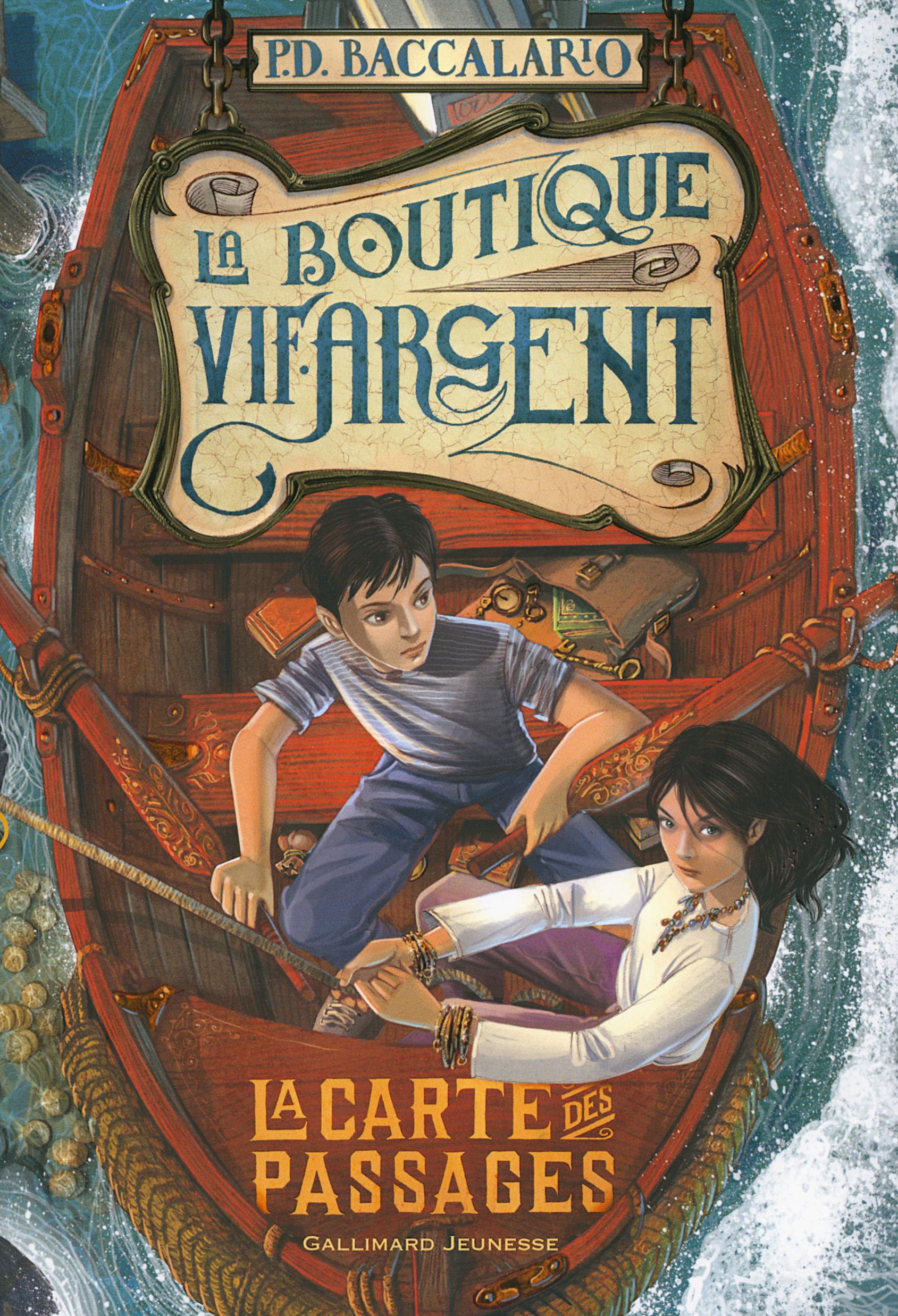 La Boutique Vif-Argent (Tome 3) - La Carte des Passages |