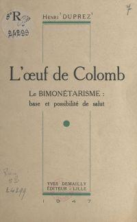 L'œuf de Colomb