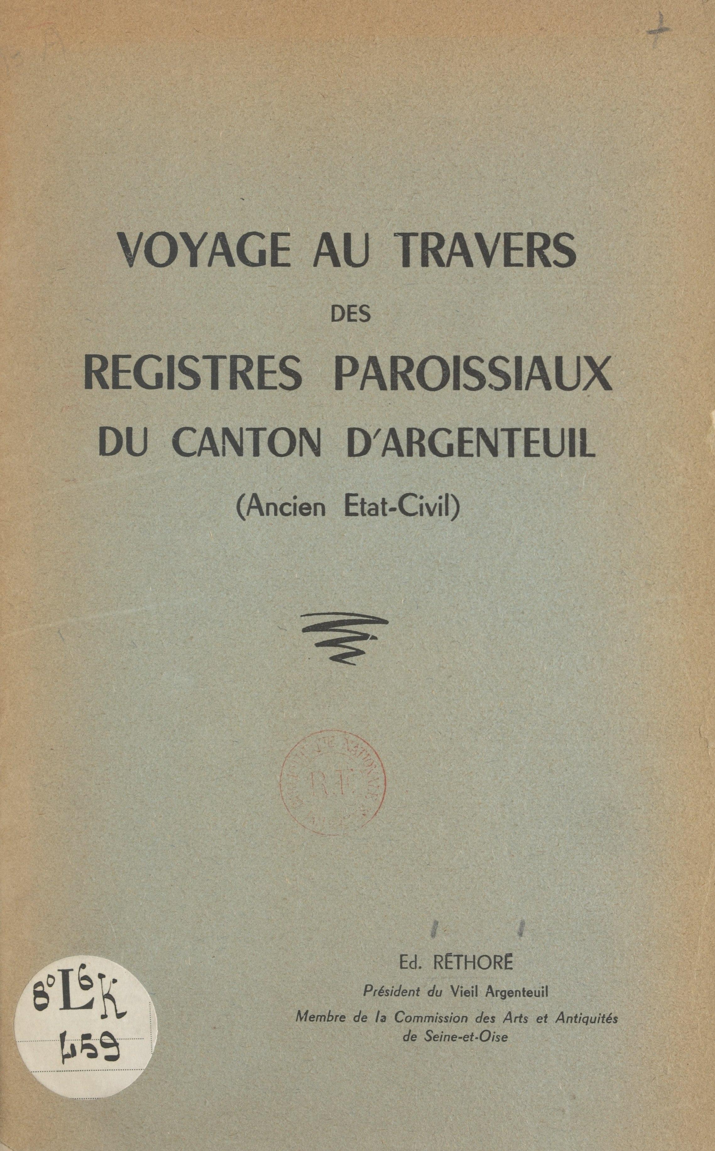 Voyage au travers des regis...
