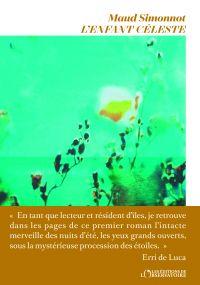 L'Enfant céleste | Simonnot, Maud (1979-....). Auteur