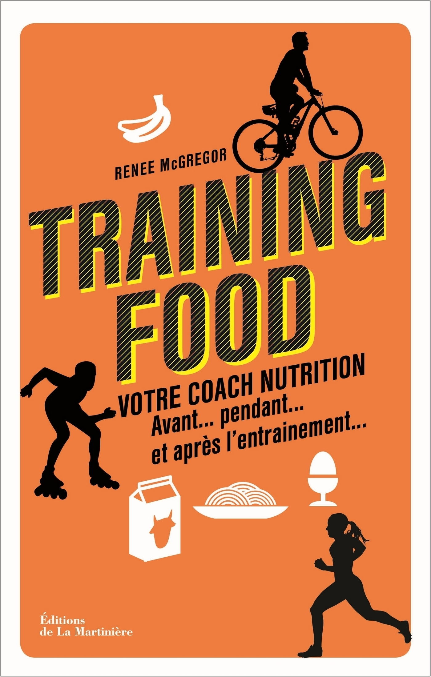 Training food. Votre coach nutrition avant, pendan