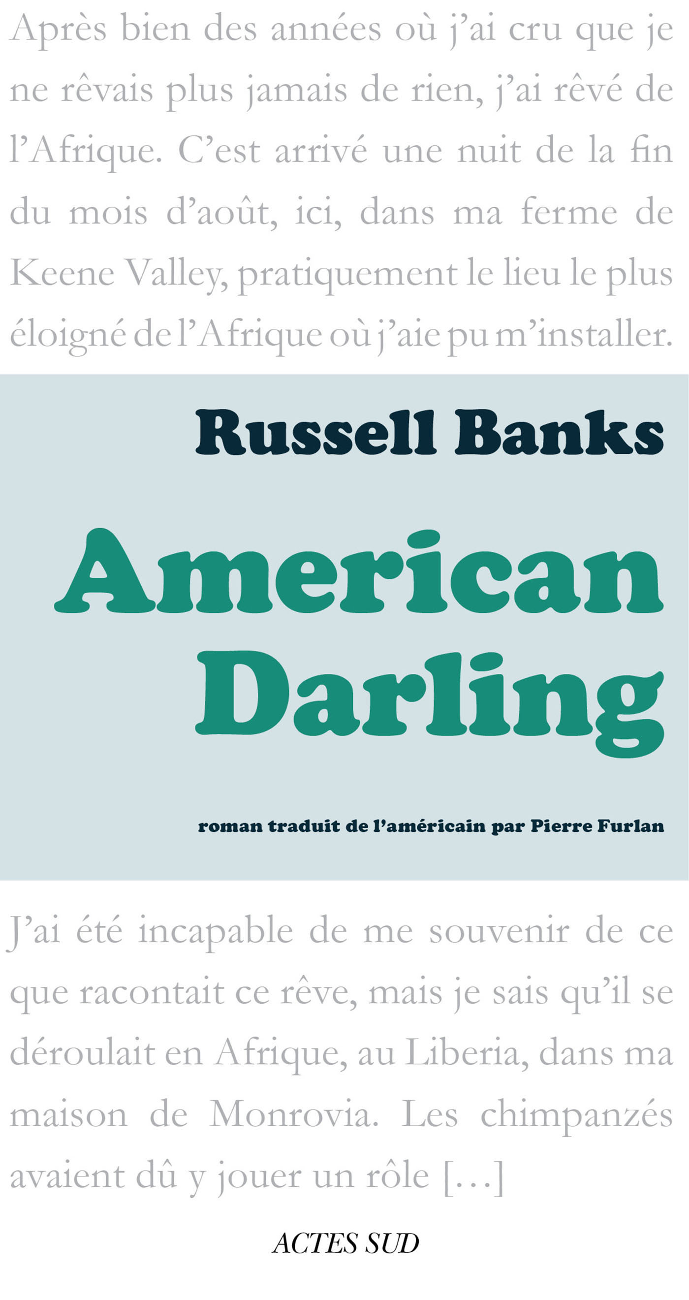 American Darling   Banks, Russell