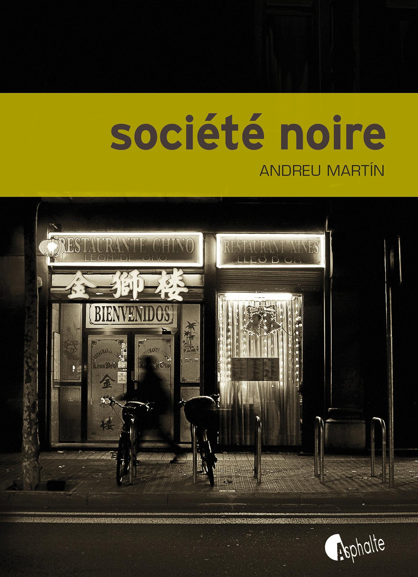 Société noire | Martín, Andreu