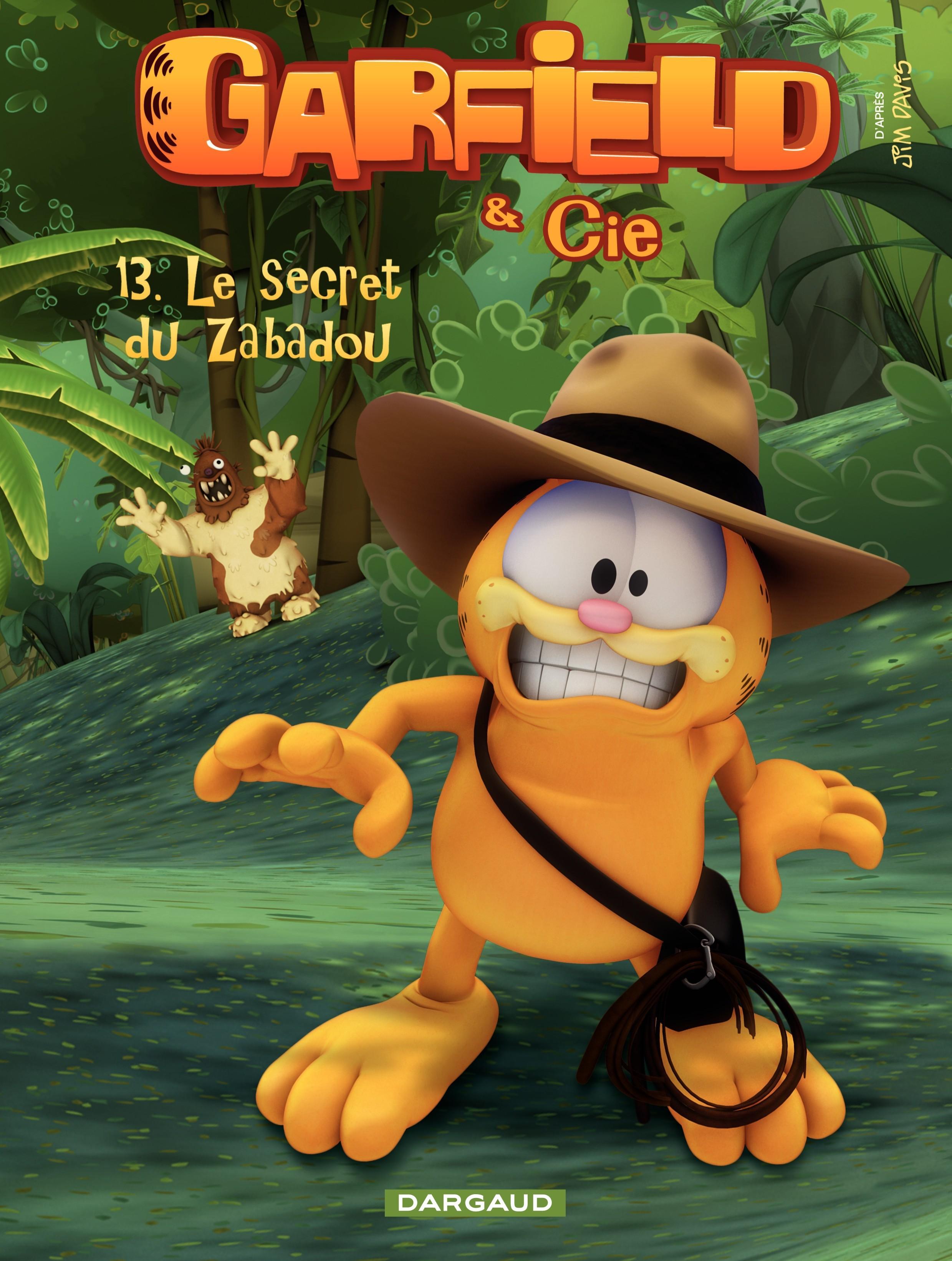 Garfield & Cie – tome 13 - Le secret de Zabadou