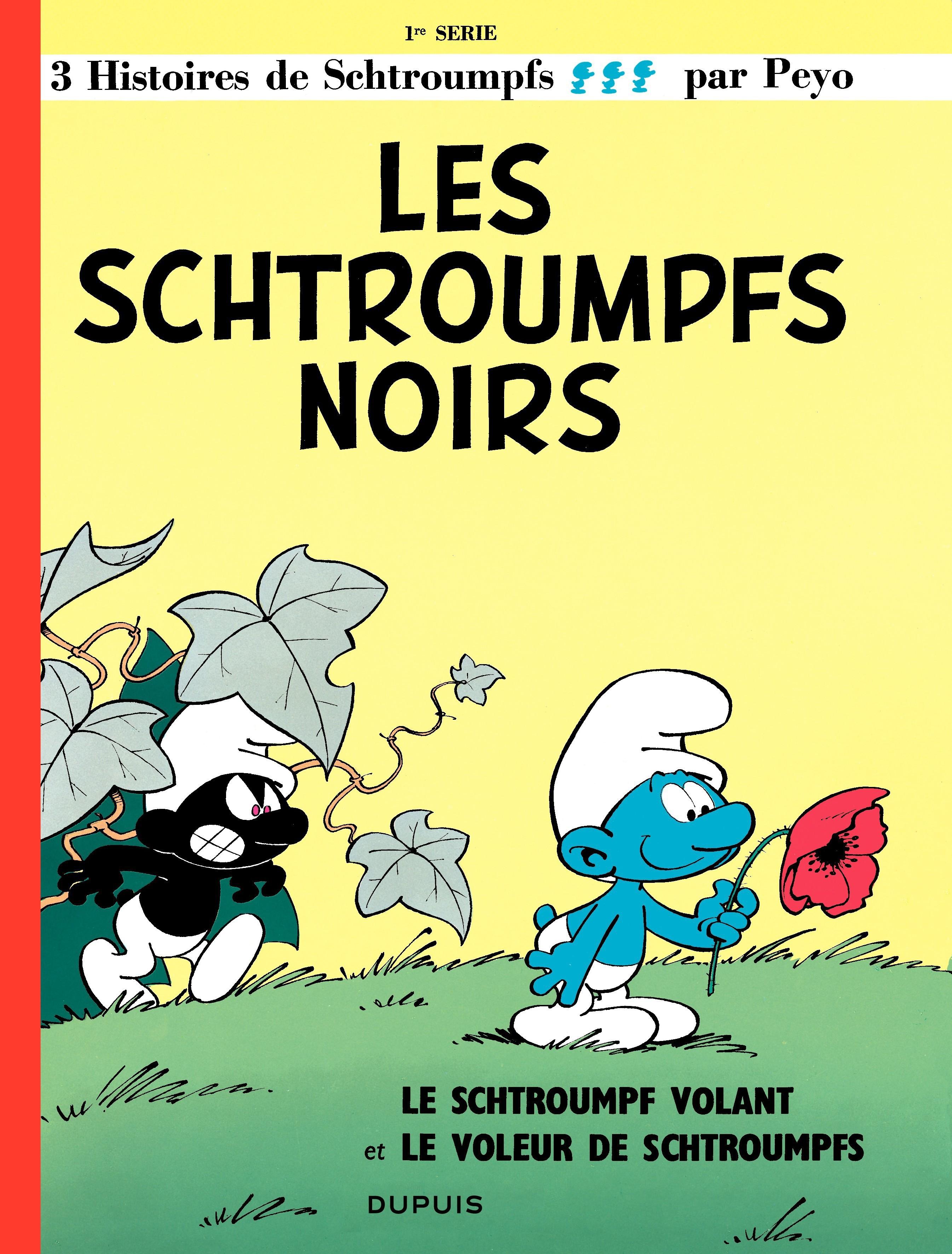 Les Schtroumpfs  - tome 01 - Les Schtroumpfs noirs