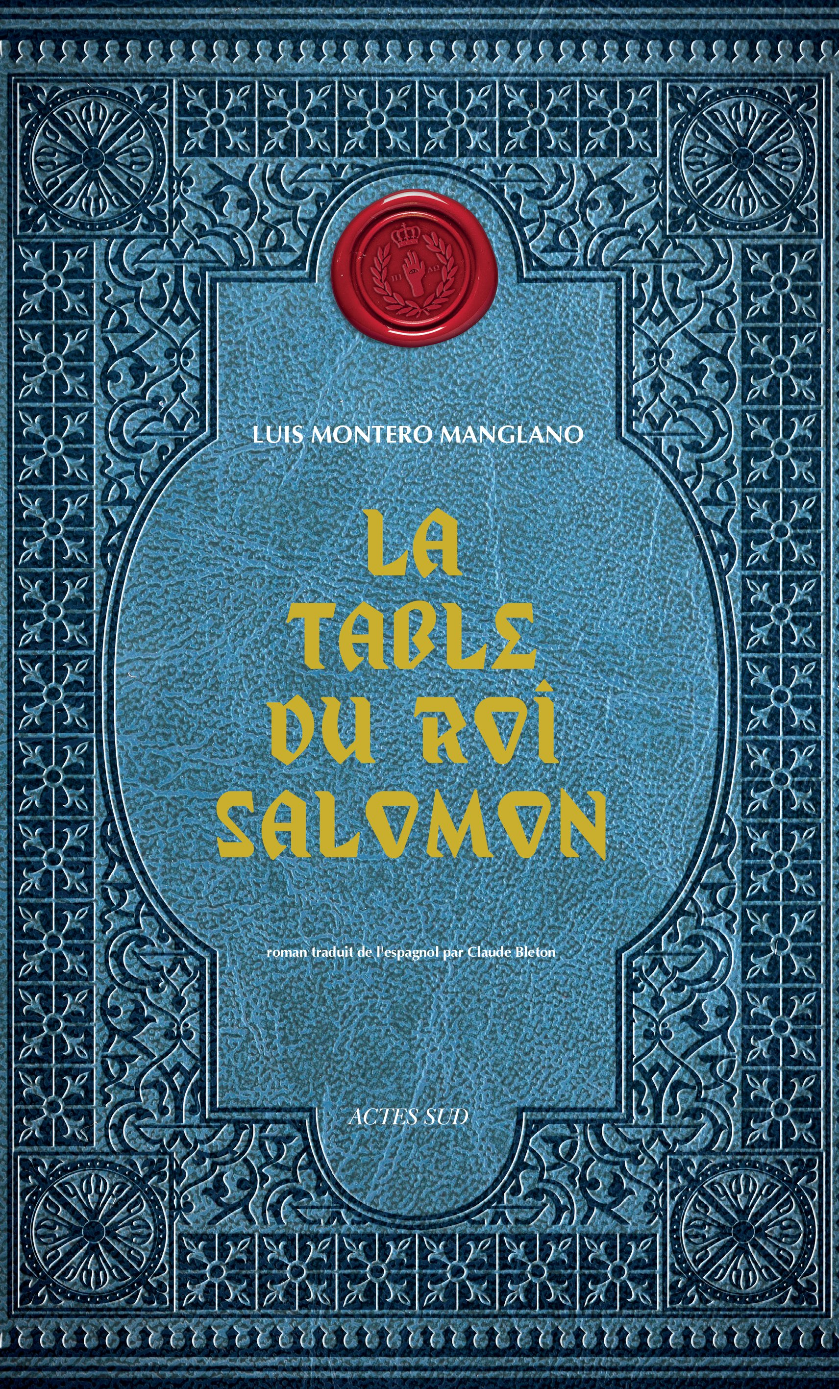 La Table du roi Salomon | Montero manglano, Luis