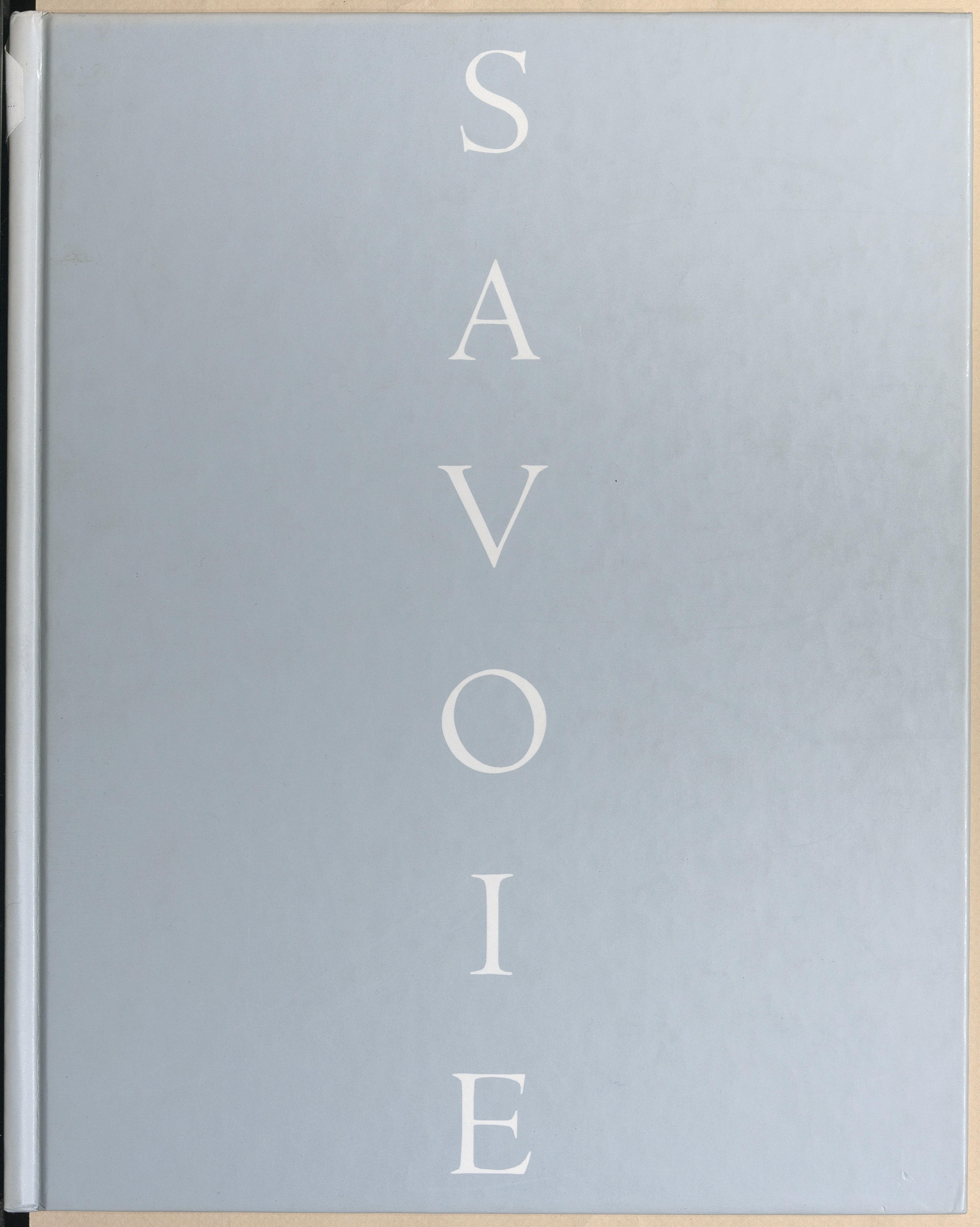 Savoie, hommes et paysages