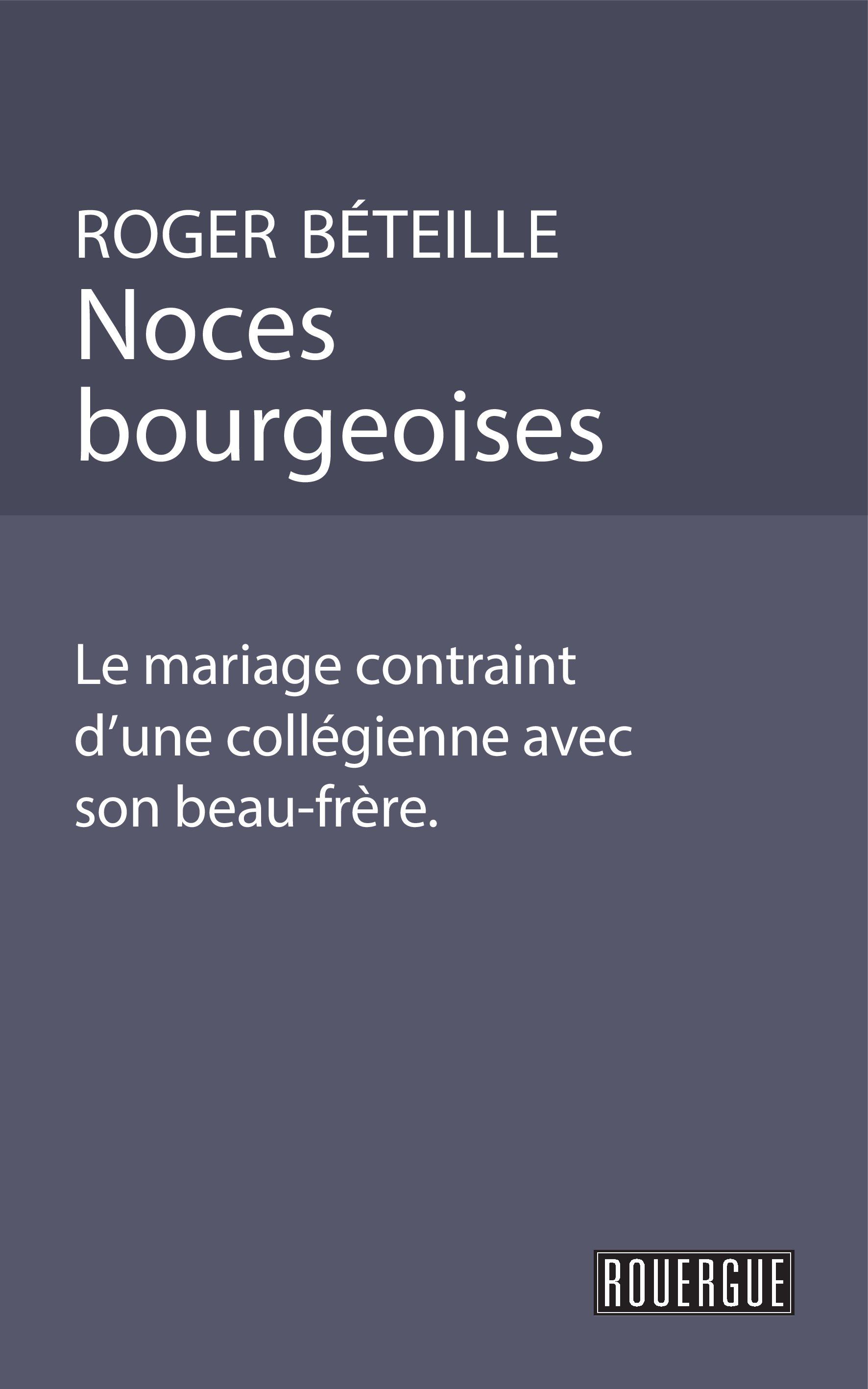 Noces bourgeoises