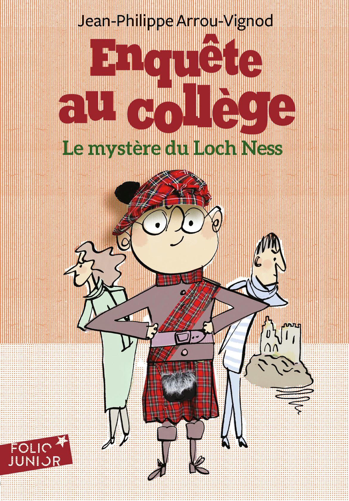 Enquête au collège (Tome 5) - Le mystère du Loch Ness |