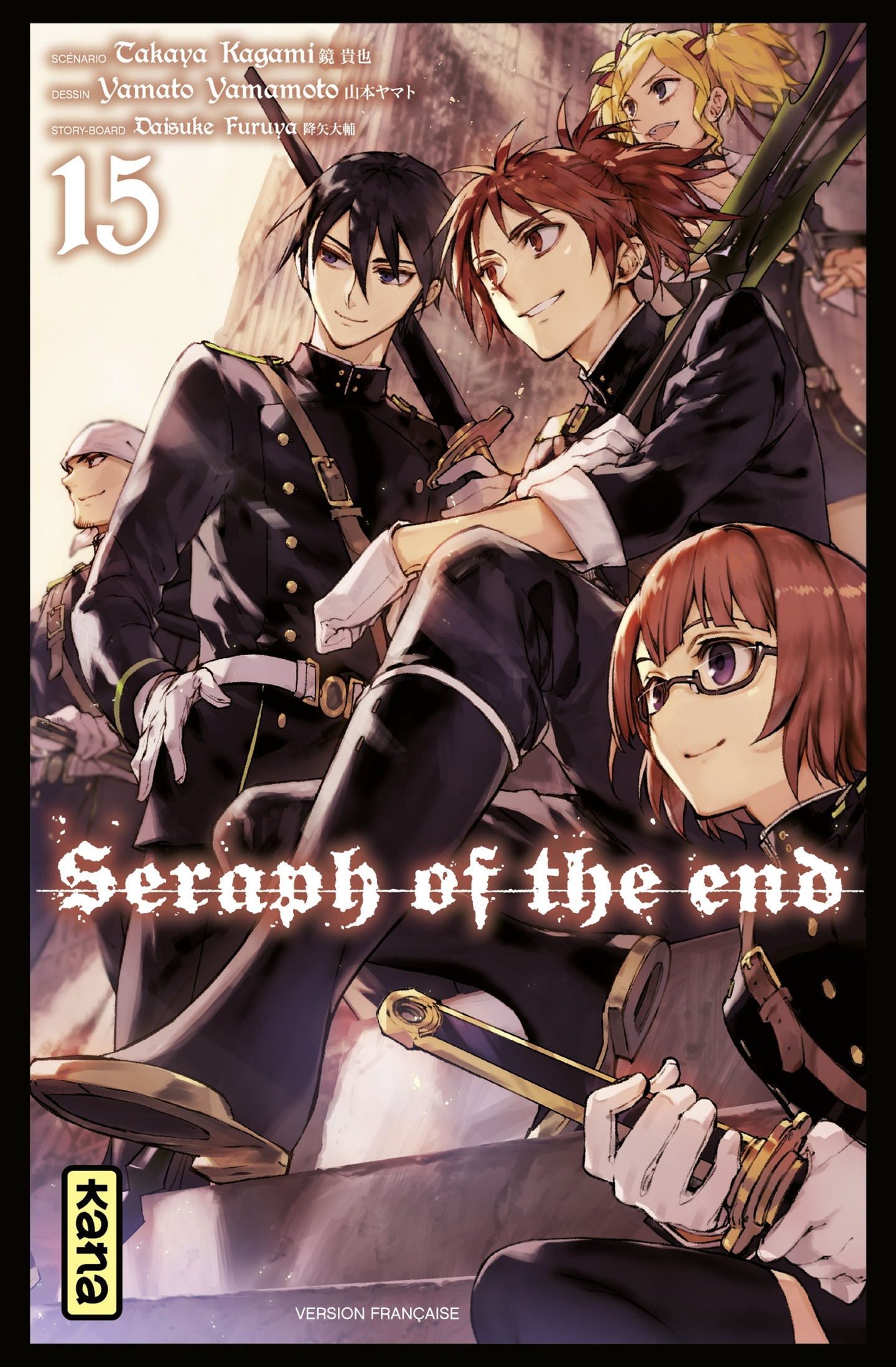Seraph of the end, tome 15
