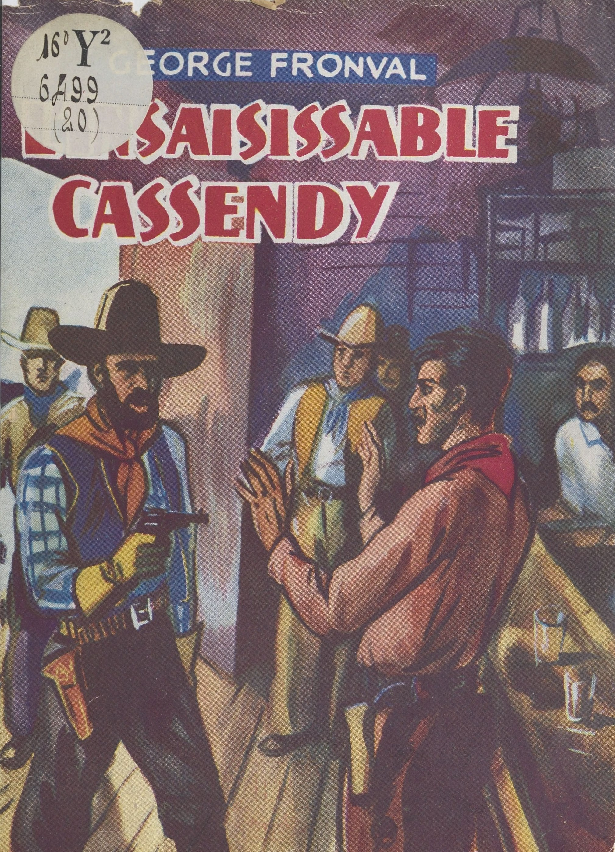 L'insaisissable Cassendy