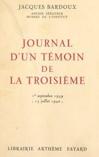 Journal d'un témoin de la T...
