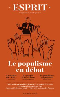 Esprit Le populisme en débat