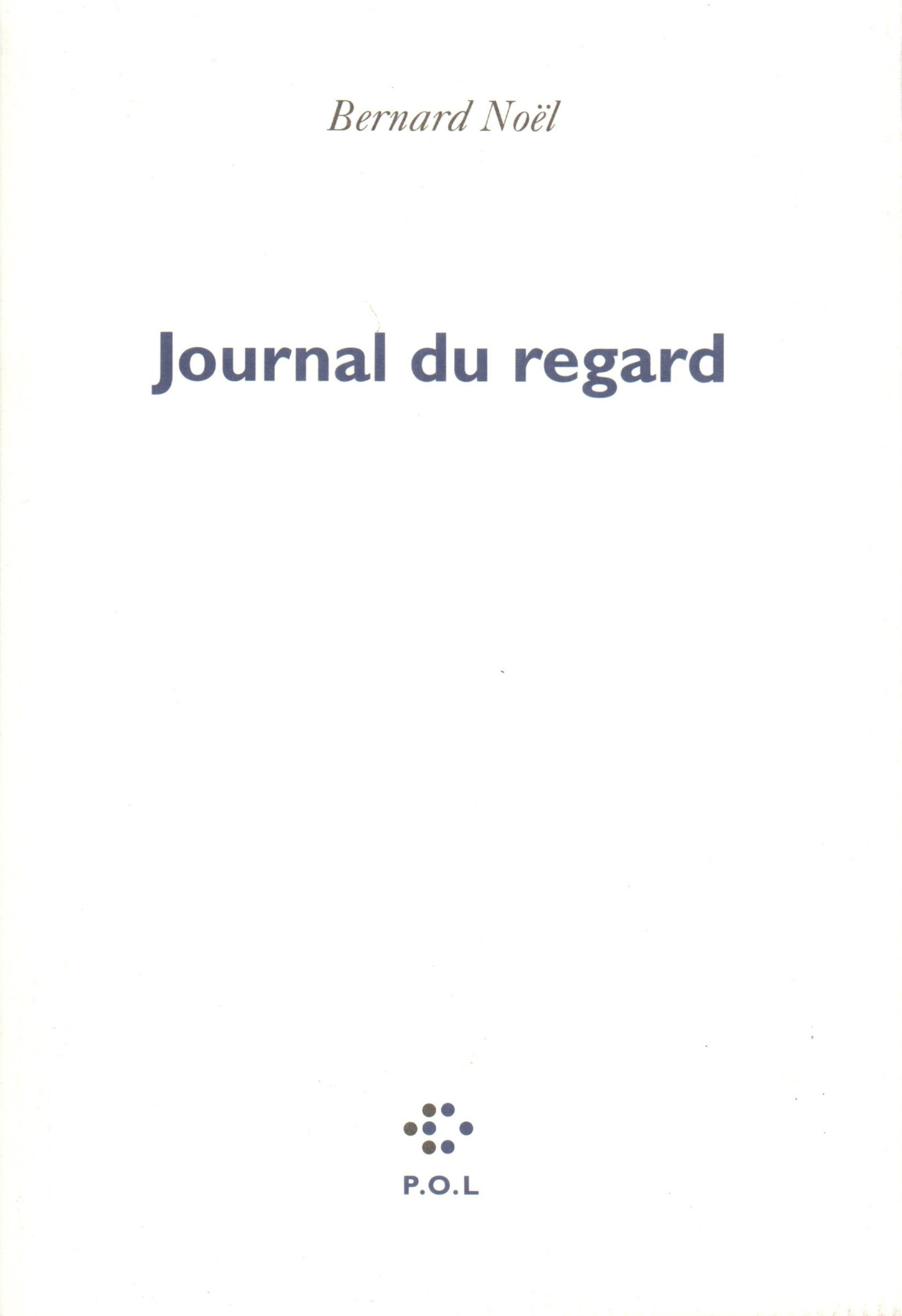 Journal du regard