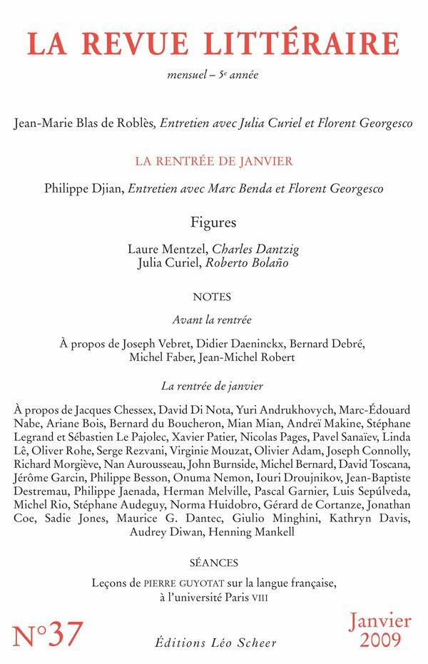 La Revue Littéraire n° 37
