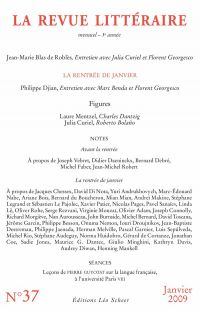 La Revue Littéraire N°37