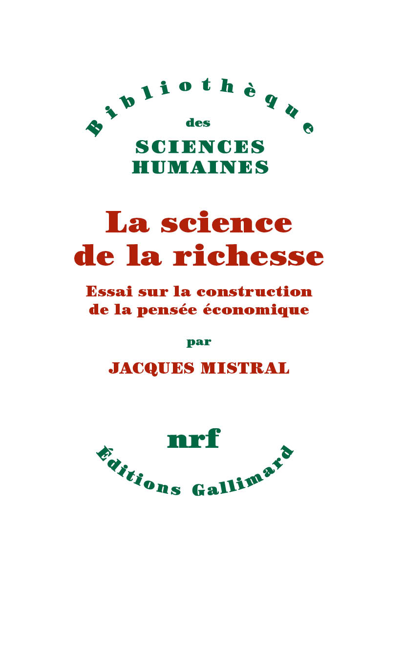 La science de la richesse. ...