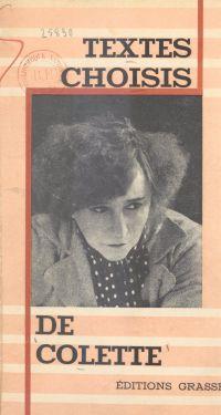 Textes choisis de Colette
