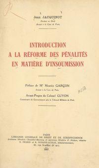 Introduction à la réforme d...