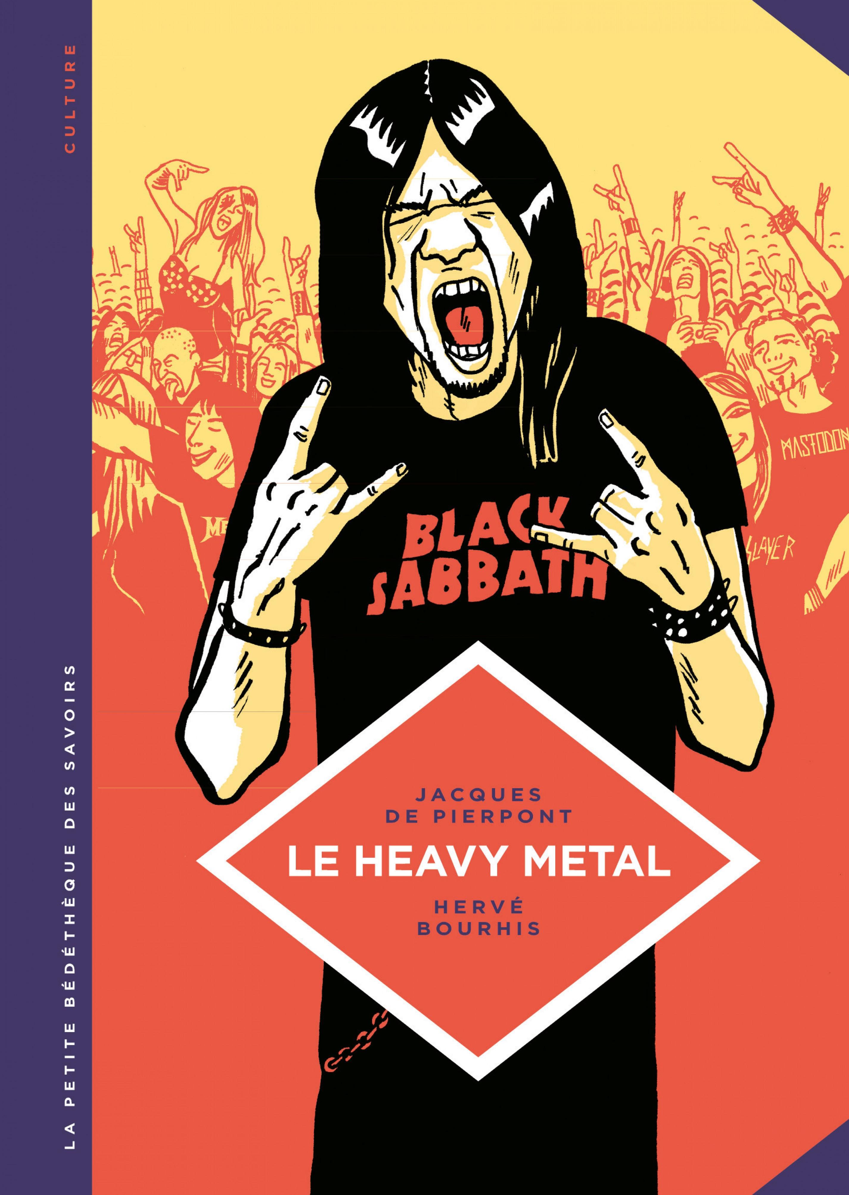 La petite Bédéthèque des Savoirs - Le heavy metal | Hervé Bourhis,