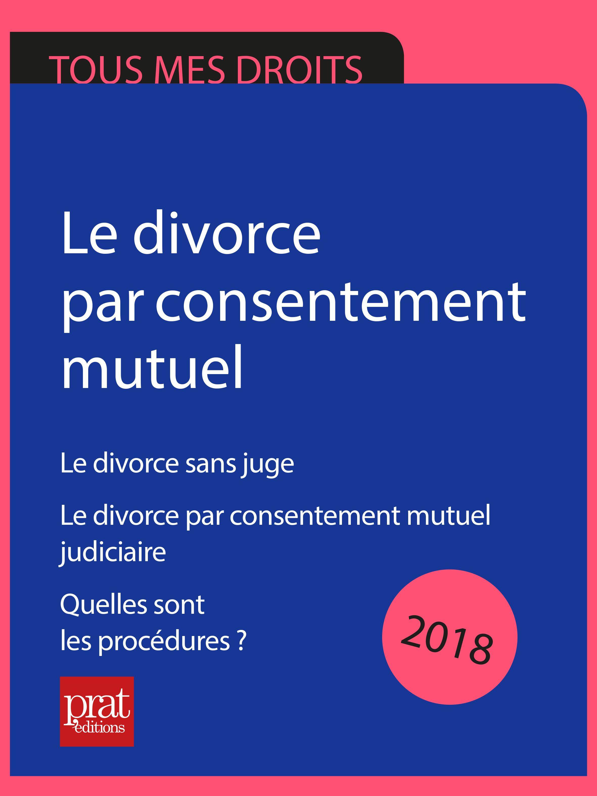 Le divorce par consentement...