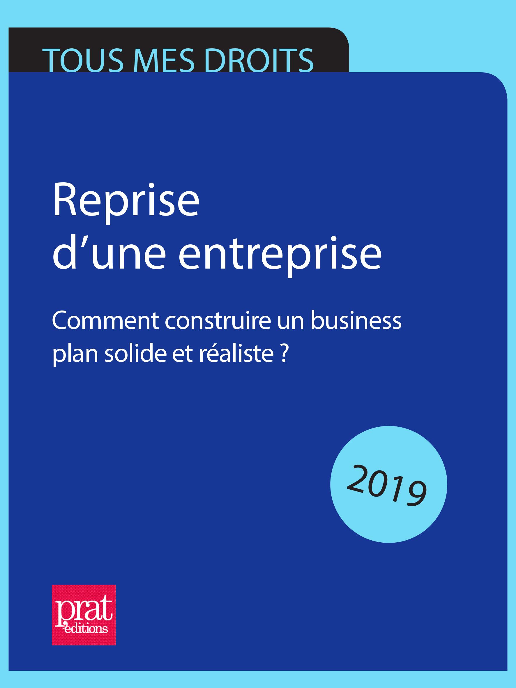 Reprise d'une entreprise 2019