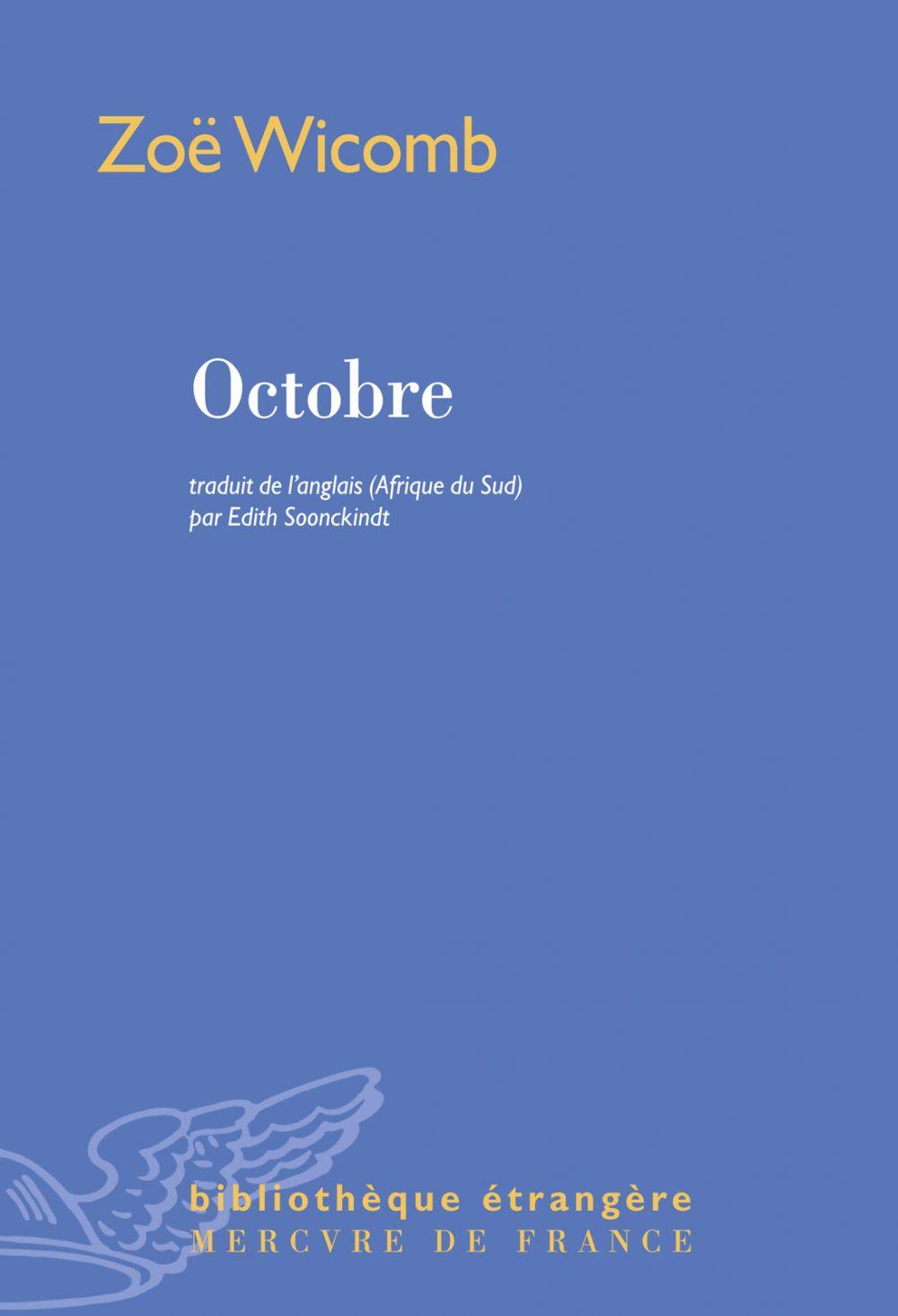 Octobre | Wicomb, Zoë (1948-....). Auteur