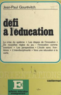 Défi à l'éducation